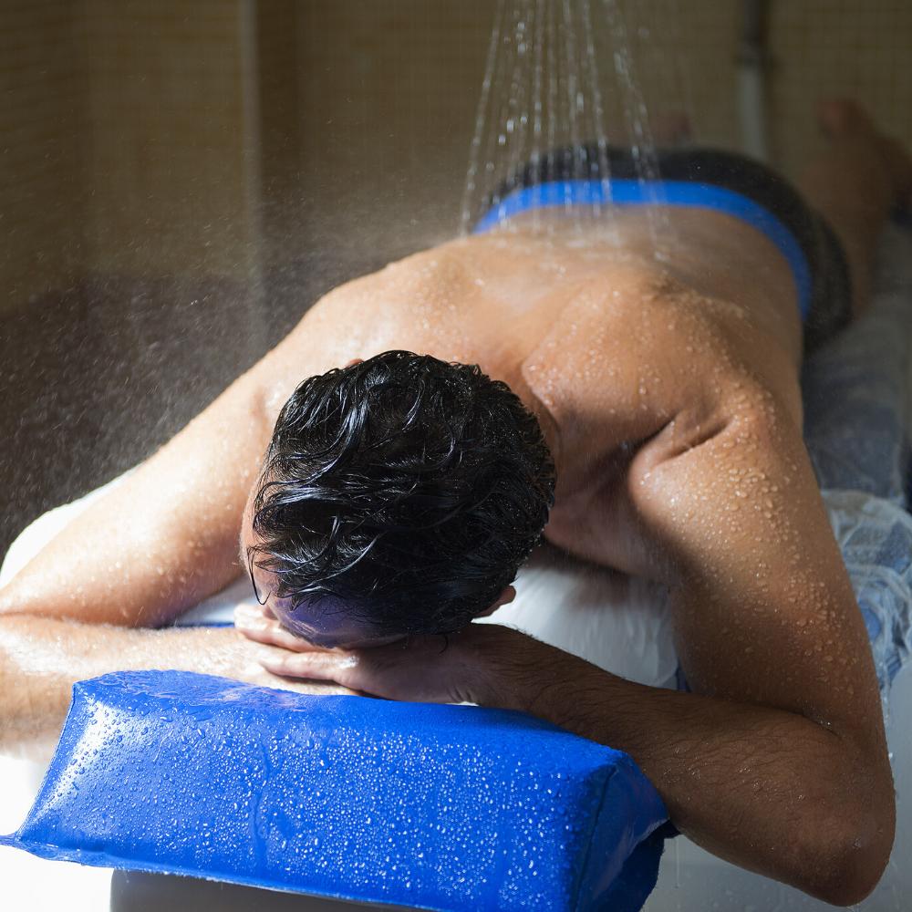 Massage sous l'eau- Thermes Digne-les-Bains