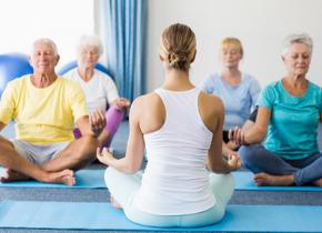 Atelier yoga aux Thermes de Digne-les-Bains