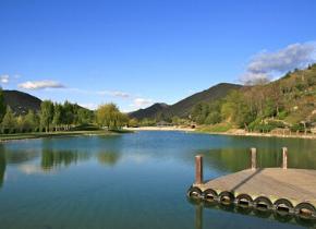 Plan d'eau des Thermes de Digne-les-Bains
